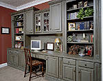 Grey Chocolate Bookcase